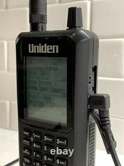 Uniden BCD436HP Digital Handheld Scanner Plus DMR Upgrade and Extra Antennas