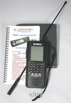 Uniden Bcd436hp Digital Handheld Scanner W Diamond Srh77ca