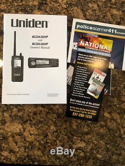 Uniden BCD436HP HomePatrol Series Digital Handheld Scanner NEW IN BOX No Reserve