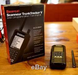 Uniden BCD436HP HomePatrol Series Digital Handheld Scanner NO RESERVE