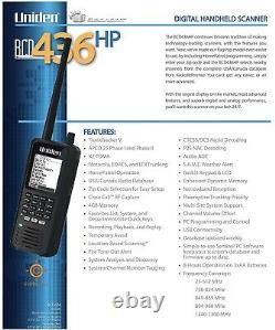 Uniden BCD436HP HomePatrol Series Digital Handheld Scanner New In Box Fast Ship