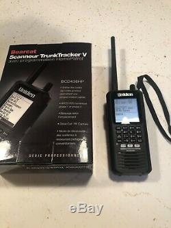 Uniden BCD436HP HomePatrol Series Digital Handheld Scanner P25 Phase 1 & 2