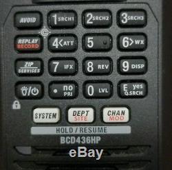 Uniden BCD436HP HomePatrol Series Digital Handheld Scanner. TrunkTracker V