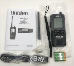 Uniden BCD436HP HomePatrol Series Digital Handheld Scanner With ProVoice And DMR