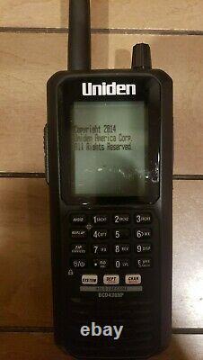 Uniden BCD436HP HomePatrol Series Digital Handheld TrunkTracker V Scanner