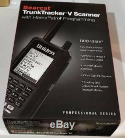 Uniden BCD436HP P-25 PHASE I & II Handheld Digital Scanner with FREE SHIPPING