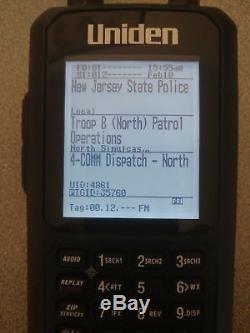 Uniden Bcd436hp P-25 Phase I & Ii Tdma, Dmr Handheld Digital Police