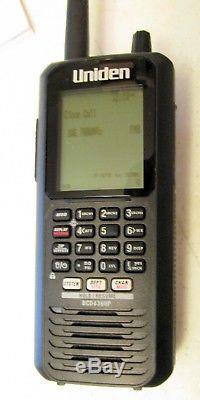 Uniden BCD436HP TrunkTracker V HomePatrol Handheld Digital Police Scanner