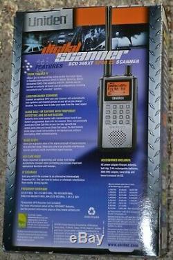 Uniden Bcd396xt Trunk Tracker IV Digital Handheld Police Scanner In Original Box