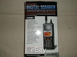 Uniden Bearcat BC250D Digital Scanner 1000 Channel Handheld HF VHF UHF Military
