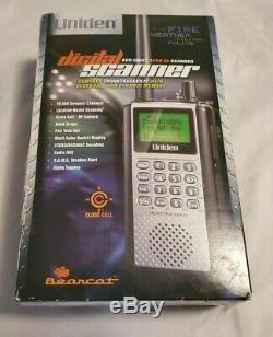 Uniden Bearcat BCD396XT Handheld Digital Scanner APCO 25 Trunk Tracker IV New