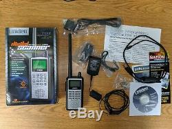 Uniden Bearcat BCD396XT Handheld Digital Scanner Trunk Tracker IV with Accessories