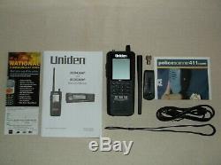 Uniden Bearcat BCD436HP Handheld Digital Police Scanner (very good condition)