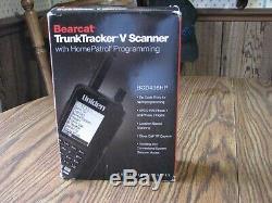 Uniden Bearcat BCD436HP Home Patrol Digital Handheld Scanner TrunkTracker V