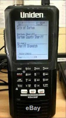 Uniden Bearcat BCD436HP HomePatrol Digital Handheld Scanner DMR MotoTRBO NXDN