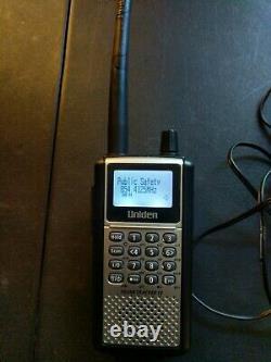 Uniden Bearcat Digital Police Scanner Trunked Radio BCD396XT APCO P25 EDACS LTR