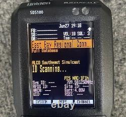Uniden Bearcat SDS100 Digital Handheld Scanner True I/Q In Excellent Condition
