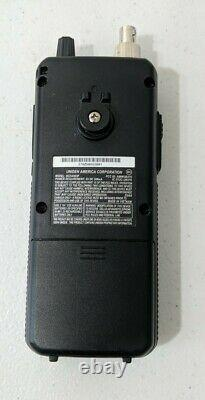 Uniden Handheld Scanner BCD436HP HomePatrol Digital With Diamond RH77CA Antenna