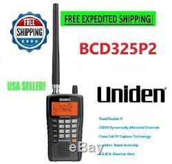 Uniden Police Scanner Bcd325p2 Digital Radio Handheld Mobile