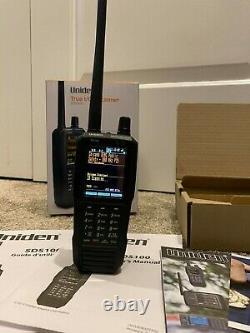 Uniden SDS100 Digital APCO Deluxe Trunking Handheld Police Scanner