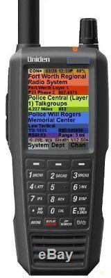 Uniden SDS100 Digital APCO Deluxe Trunking Handheld Scanner