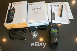 Uniden SDS100 Digital APCO Deluxe Trunking Handheld Scanner DMR, ProVoice, NXDN