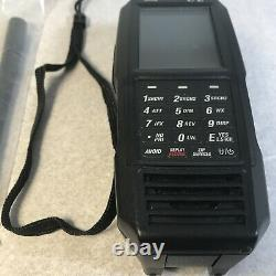 Uniden SDS100 Digital APCO Deluxe Trunking Handheld Scanner Scratches On Screen