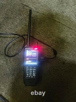 Uniden SDS100 Digital APCO Deluxe Trunking Handheld Scanner w extended battery