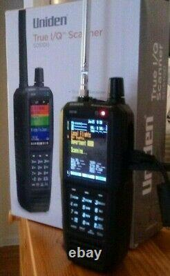 Uniden SDS100 Digital APCO Deluxe Trunking Handheld Scanner with DMR Upgrade