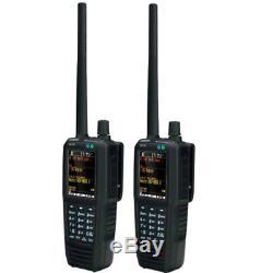 Uniden SDS100 True I/Q Digital Handheld Scanner 2 Pack