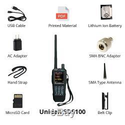 Uniden SDS100 True I/Q Digital Handheld Scanner APCO P25 DMR