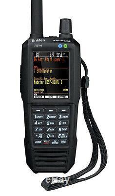 Uniden SDS100 True I/Q Handheld Digital Police Scanner NEW! Lastest Release