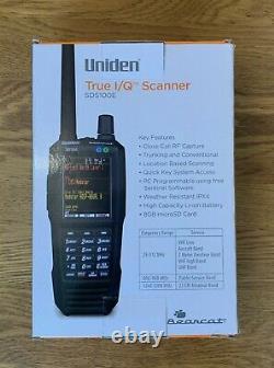 Uniden Sds100e Handheld Digital/analog Scanner With Dmr & Nxdn Activated