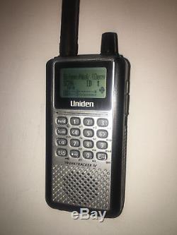 Uniden TRUNKTRACKER IV BCD396XT Handheld Digital Scanner