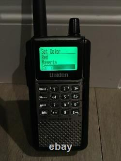 Uniden bcd396xt Scanner Digital Trunk Tracker IV Radio Police, Fire, EMS, +