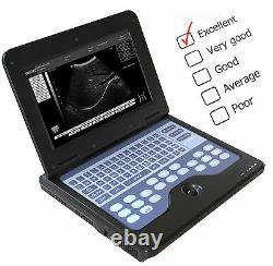 VET Veterinary Bovine & equine Ultrasound Scanner Animal 7.5Mhz Rectal probe, USA
