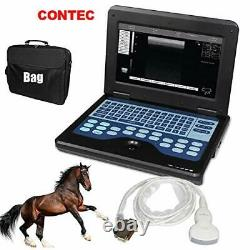 Vet/Veterinary B-Ultrasound Scanner with 3.5Mhz Convex Probe for Horse, Goat, Cow