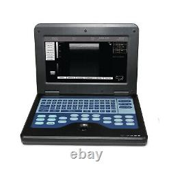 Veterinary Animal Laptop Ultrasound Scanner Machine 3.5 Convex Probe USA Fedex