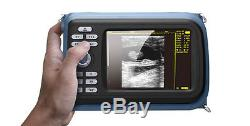 Veterinary Digital Handheld B Ultrasound Scanner Machine Micro-Convex Transducer