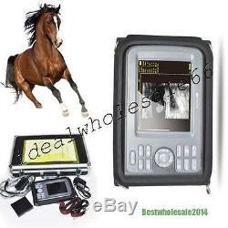 Veterinary Digital Handheld Ultrasound Scanner Convex+ Rectal Transducer USPS