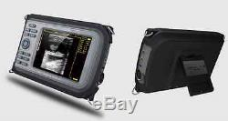Veterinary Digital Handheld Ultrasound Scanner Machine+Rectal Probe Pet Battery