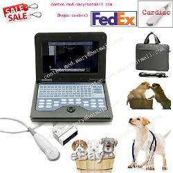 Veterinary Laptop Ultrasound Scanner Machine VET Micro Convex Probe US Seller