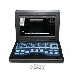 Veterinary Ultrasound Scanner Digital Laptop Machine & Micro Convex Cat/Dog/Pet