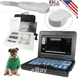 Veterinary Ultrasound Scanner Laptop Ultrasound Machine Micro Convex For Dog/Cat