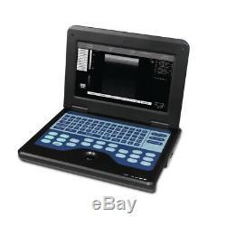 Veterinary Ultrasound Scanner VET Laptop Machine Micro Convex+ Rectal 2 Probes