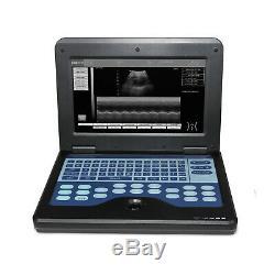 Veterinary Vet digital ultrasound scanner machine laptop 7.5mhz rectal probe COW