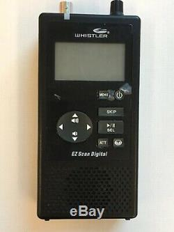 Whistler Digital Handheld Trunking Scanner WS1080. APCO25 Phase 1 and 2 with DMR