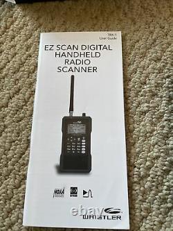 Whistler TRX-1 Digital/Analog Police Scanner Handheld DMR TRBO P25-PI/II USED