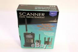 Whistler TRX-1 Digital Handheld Scanner Radio DMR P25-PI/II NXDN MotoTRBO TRBO