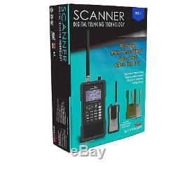 Whistler TRX-1 Digital Scanner Radio Bundle Handheld Trunking Self Programming